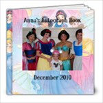 Anna s Autograph - 8x8 Photo Book (39 pages)