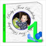 Remi s 1st b-day - 8x8 Photo Book (20 pages)