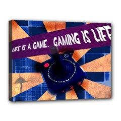 life is a game - Canvas 16  x 12  (Stretched)