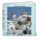 Santorini, Greece May 2010 - 8x8 Photo Book (20 pages)