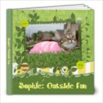 Sophie: Outdside Fun - 8x8 Photo Book (20 pages)