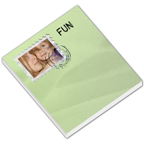 Fun Memo By Wood Johnson   Small Memo Pads   Ozso1q80qfxa   Www Artscow Com