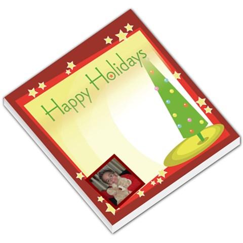 Christmas Memo Pad By Mel Perrault   Small Memo Pads   7q7u2rd37sho   Www Artscow Com