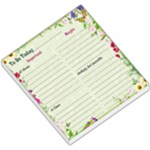 To-Do List - Garden theme - Small Memo Pads
