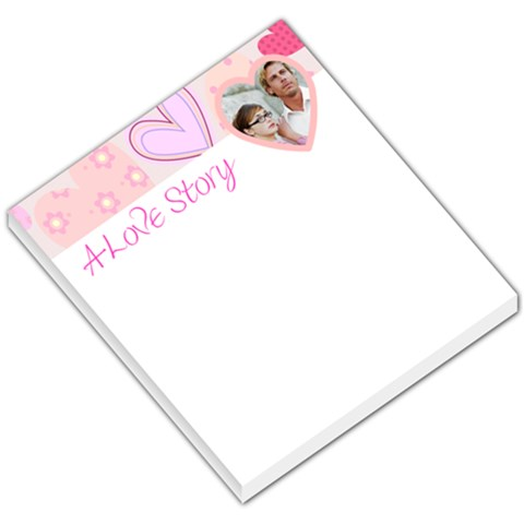 Love Story Hearty Header By Gary Bush   Small Memo Pads   Vdub5g8jntr0   Www Artscow Com