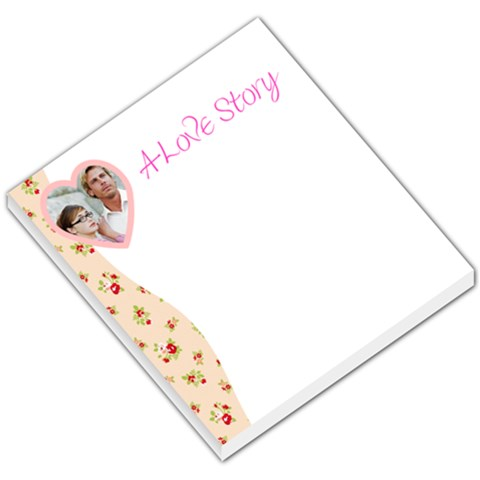 Love Story Floral Sidebar By Gary Bush   Small Memo Pads   Lho815bttfot   Www Artscow Com