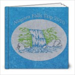 Niagara Falls Vacation 2010 - 8x8 Photo Book (39 pages)