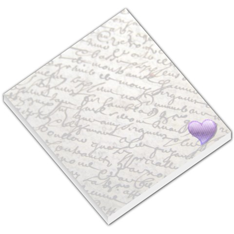 French Note By Kerri Morgan   Small Memo Pads   R95zzmipysly   Www Artscow Com