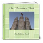 Reverence Book - 8x8 Photo Book (20 pages)