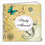 Study Abroad Scrapbook for London :) - 8x8 Photo Book (20 pages)