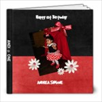 andi s 1st bday - 8x8 Photo Book (20 pages)