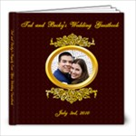 BeckyandTedGuestbook - 8x8 Photo Book (20 pages)