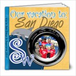 Sea world Sandiego book me - 8x8 Photo Book (39 pages)