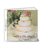 Mini Wedding Album - 4x4 Deluxe Photo Book (20 pages)