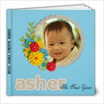 Asher Malik s The First Year  - 8x8 Photo Book (30 pages)