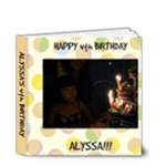 alyssas bday - 4x4 Deluxe Photo Book (20 pages)