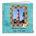 Summer Vacation - 8x8 Photo Book (39 pages)