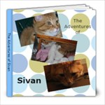 The Adventures of Sivan photo book - 8x8 Photo Book (20 pages)