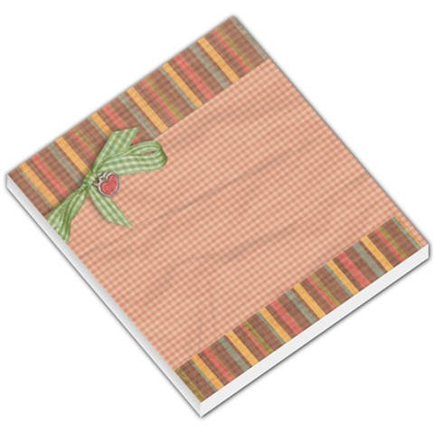 Small Memopad By Wendy Green   Small Memo Pads   N3p5nk1bp7pb   Www Artscow Com