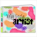 My little artist - 9x7 Photo Book (20 pages)