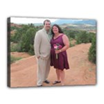 David and Mel Co Springs - Canvas 16  x 12  (Stretched)