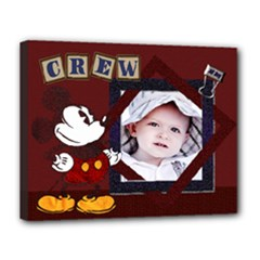 crew canvas - Canvas 14  x 11  (Stretched)