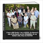 Eddie s Relatives Aug 2010 - 8x8 Photo Book (20 pages)