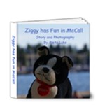Ziggy has fun in McCall - 4x4 Deluxe Photo Book (20 pages)