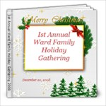 1st Annual Ward Holiday Family Gathering - 8x8 Photo Book (20 pages)