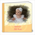 haiden abc - 8x8 Photo Book (30 pages)