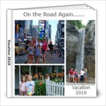 Vacation 2010 - 8x8 Photo Book (60 pages)