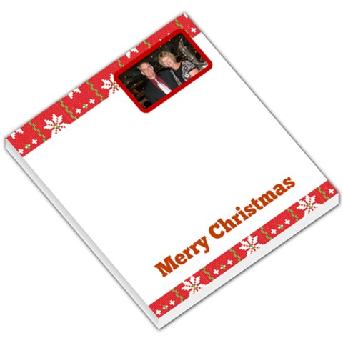 Holiday Memo Pad By Candy H   Small Memo Pads   1hfyzjc0kpl2   Www Artscow Com