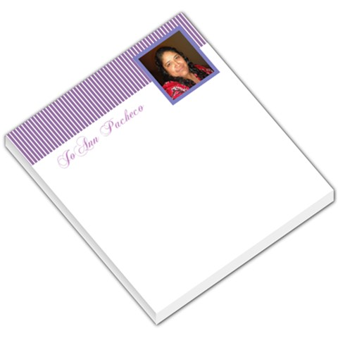 Baby007 By Jo Ann Pacheco   Small Memo Pads   Bj3n0tg3695e   Www Artscow Com