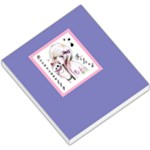 Purple Small Flower - Small Memo Pads