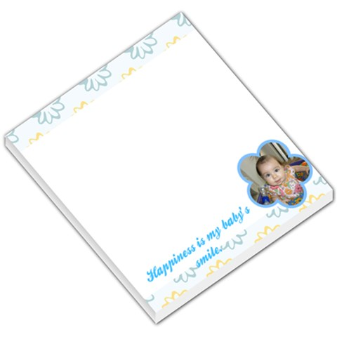 Bella s Smile Notepad By Jessica   Small Memo Pads   Shx3kppw0hgm   Www Artscow Com