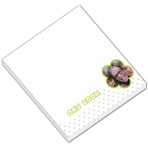 Flower 009 By Amy Parris Cook   Small Memo Pads   Ura6vuipitit   Www Artscow Com