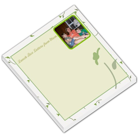 Lunch Box Letters By Jennefier Patterson   Small Memo Pads   Ptou87eeuwox   Www Artscow Com