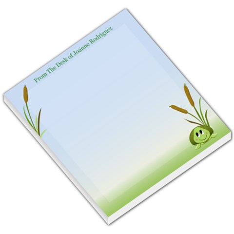 Turtle Notepad :) By Joanne Rodriguez   Small Memo Pads   Ng72uce1o1qp   Www Artscow Com