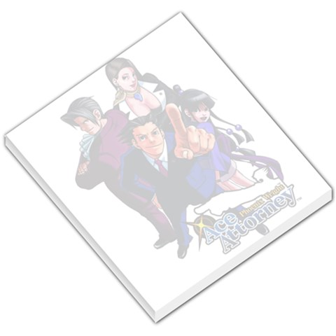 Ace Attorney Memo Pad By Wes   Small Memo Pads   Mxbw5otj2xh1   Www Artscow Com