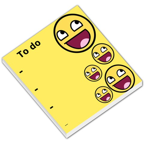 Awesome By Thomas Van Deun   Small Memo Pads   Jpxxufwvbyne   Www Artscow Com
