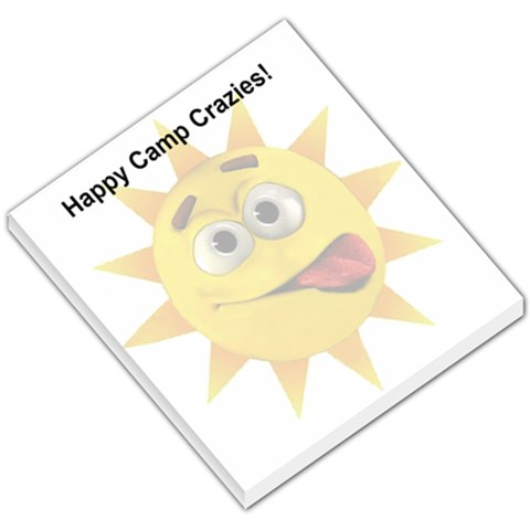 Happycamppad By Theresa   Small Memo Pads   Q4we2g2ue12g   Www Artscow Com