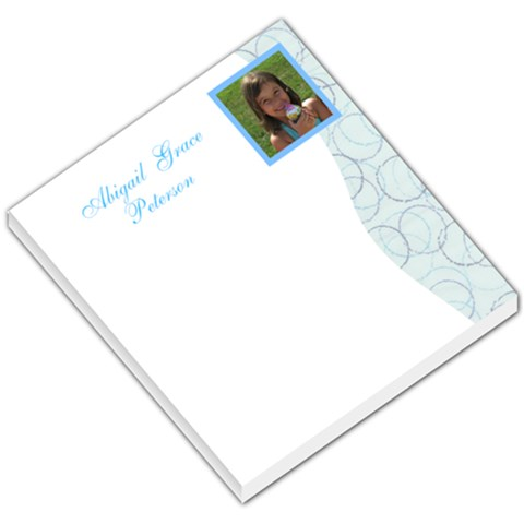 Abigail s Memopad By Mitzi Peterson   Small Memo Pads   Qb9so3byt3wc   Www Artscow Com