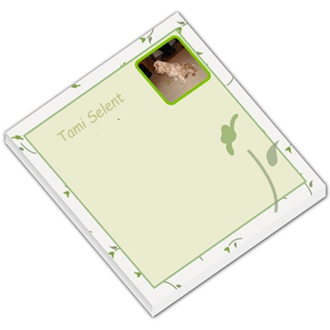 Mindi Notepad By Tami Selent   Small Memo Pads   Uwxk07wro3dz   Www Artscow Com