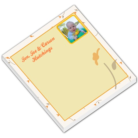Memo Pad By Jennifer Clemmensen   Small Memo Pads   Sygee7tr8aja   Www Artscow Com