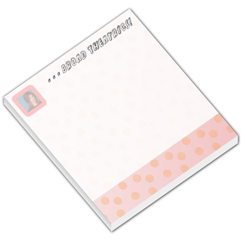 Pink! By Kirsten   Small Memo Pads   Ygosl8vklv62   Www Artscow Com