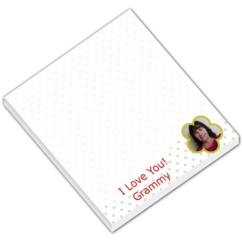 Grammy By Cindy   Small Memo Pads   G622udt0csfb   Www Artscow Com