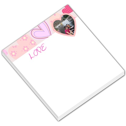 Love005 By Mei Gong   Small Memo Pads   07vpci8h84dh   Www Artscow Com