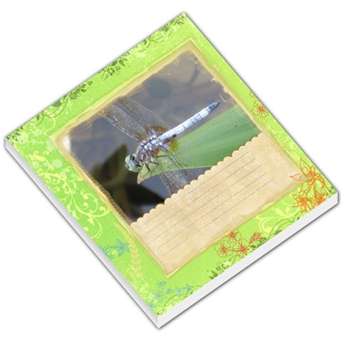 Dragonfly By Jen Houchin   Small Memo Pads   Gu8ngn0o3tou   Www Artscow Com