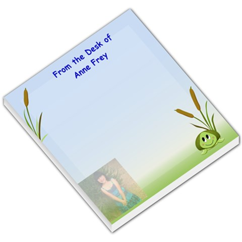 Shion Turtle By Anne Frey   Small Memo Pads   2z154ksb58g9   Www Artscow Com