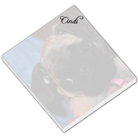 Cindi s Notepad By Kimberley Price Walker   Small Memo Pads   7fujm12nzxef   Www Artscow Com